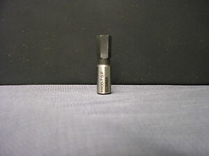 7mm Hex Broach 8mm Dia Shank For Swiss Rotary Broach Holder