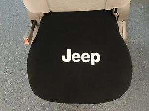Jeep Bucket Seat Cover Fits All 2000 2020 With Embroidered Jeep Logo Single 1