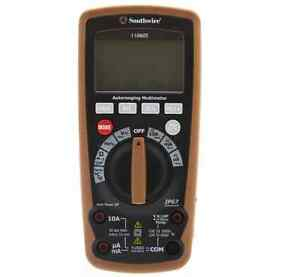 New Durable Rugged Resistance Capacitance Southwire Digital Display Multimeter