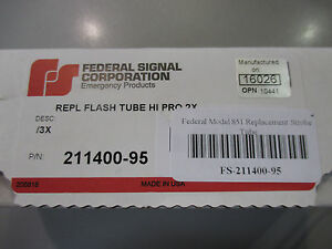 Federal Model 851 Replacement Strobe Tube