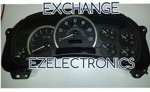 2003 2005 Cadillac Escalade Instrument Cluster Exchange Remanufactured 15182142