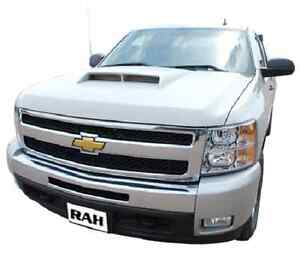 Chevy Silverado 1500 Aggressive Functional Ram Air Hood Fits 2007 2013 P 811452