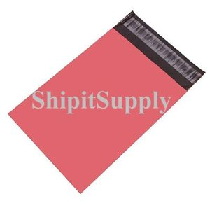 1 1000 6x9 Pink Color Poly Mailers Shipping Boutique Bags Fast Shipping