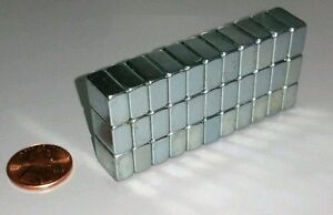 20 Neodymium Block Magnets Large N52 Super Strong Rare Earth 1 2 3 8 1 4