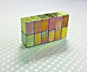 20 Neodymium Cube Magnets N52 Super Strong Rare Earth 8mm 8mm 5mm