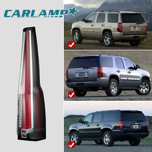 Escalade Tail Lights For 2007 2014 Gmc Yukon Chevy Suburban Tahoe Rear Lamp