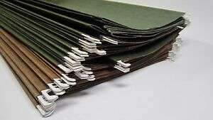 Lot Of 40 Legal Size Hanging File Folders 14 X 9 No Plastic Tabs