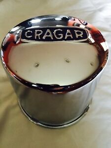 Crager Wheel Push Thru Center Cap A 29271 1 New Chrome 4 5 Diameter For Rims