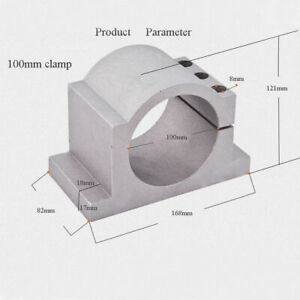 Top Mount Bracket Clamp 100mm Diameter For Cnc Spindle Motor Free Shipping