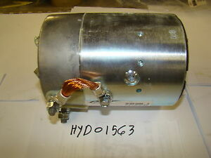 Boss Hyd09328 12v Motor For Boss Snowplow