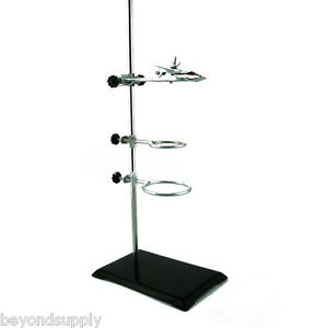 Lab Cast Iron Support Ring Stand Extension Clamp Holder Swivel Ring Base New