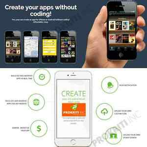 Make And Sell Mobile App Without Coding Online Application Lifetime Access