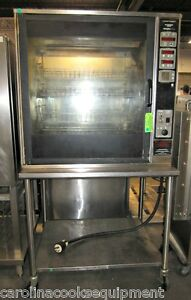 Henny Penny Scr 8 Cabinet Chicken Rotisserie Oven