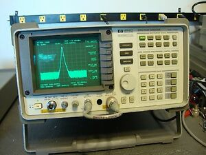 Hp Agilent 8560a Spectrum Analyzer W tracking Generator 50 Hz 2 9 Ghz Cal d Opt2