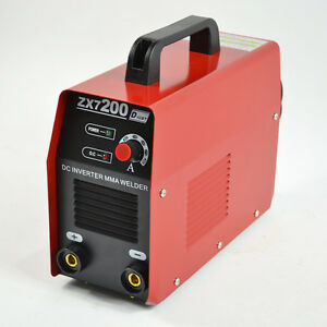 Welding Machine 220v Dc Inverter Arc Mma Welder Fit Usa Use Aofeng Igbt Zx7 200