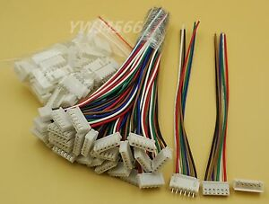 500 Set Xh2 54 Single head 6pin Wire To Board Connector 15cm 24awg With Socket