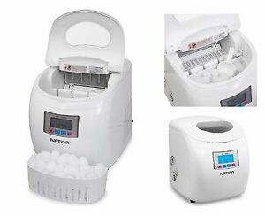 Portable Countertop Ice Maker Ice Compact Cube Machine Lcd Display Refrigeration