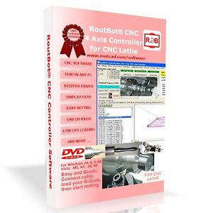 Cnc Lathe Control Software For 4 Axis Step Motor Using Pc Parallel Port Cd flp