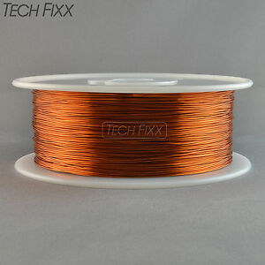 Magnet Wire 25 Gauge Awg Enameled Copper 3500 Feet Coil Winding Essex 200c