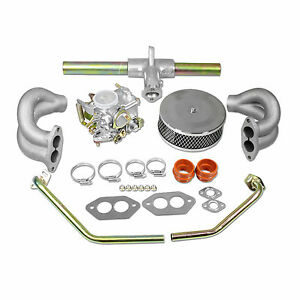 Vw 34 Pict 3 Carburetor Kit With Air Filter Type 1 And 2 Volkswagen Bug Bus Ghia