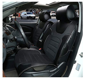 Car Seat Covers Cushions Leather Like 2 Front Black 803e For Chrysler