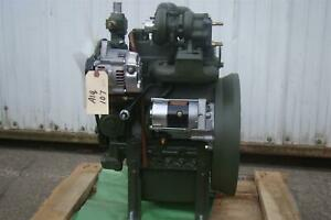 Kubota Turbo Diesel Engine Model D722 2 Complete W Starter And Alternator 24v