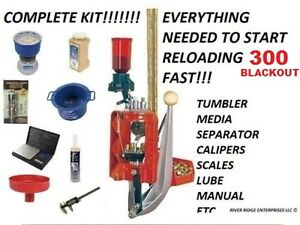 Lee Loadmaster Progressive Press 300 AAC  Blackout - COMPLETE KIT FOR RELOADING