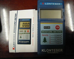 New Digital Inductive Wood Tree Timber Moisture Meter Range 2 80 Kt 50