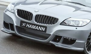 Bmw E89 Z4 2009 Hamann Brand Genuine Front Bumper With Led Drl s Oem New
