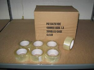 Economy 2 Clear Packaging Tape 36 Rolls Per Case Ships Free