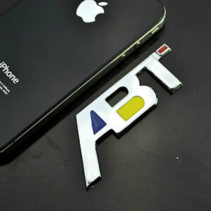 Au Abt 3d Metal Car Sticker Badge Emblem With Chrome 4x4 4wd