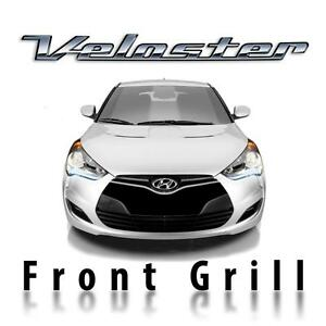 Front Grill Decal Sticker Pre Cut 3d Carbon Fiber For Hyundai Veloster 2011