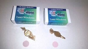 Candela Laser And Cynosure Laser Replacement Windows 755nm 1064 Nm
