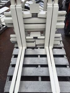 Multi Pallet Handler With Side Shift Class Ii Forklift Attachment