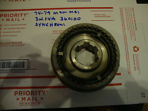 74 79 M 2o M2 Nos 360100 Transmission Sychronizer Assembly 3rd 4th Gears Ee126