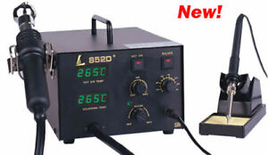 1 Ldb Smd Rework Station Temp Display Hot Air 852d 110v Ds017 Desolder Pump