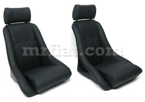 Alfa Romeo Gt Junior Gtv Perforated Leather Seat Set New