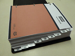 Case 584c 585c 586c Forklift Service Manual Repair Shop Book New With Binder