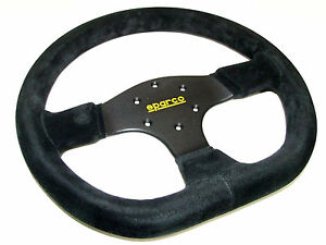 Sparco Steering Wheel R353 330mm 36mm Dish flat Bottom suede