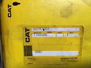7j6226 Cat Bracket Caterpillar 7j 6226 For Track type Loader Cat 977k And 955k