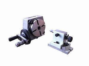 4 Rotary Table With The Dividing Plate And The Tailstock