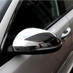 New Chrome Rearview Mirror Cover Trim For Kia Optima 2016 2017 2018 2019 2020
