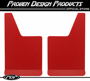 Gmc 1500 2500 Sierra Truck Denali Red Mud Flaps Pdp Mudflaps Plain_ Red