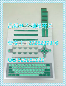 1pcs Membrane Switch And Rottwcil New Spurt The Code Machine Keyboard hf64 Yd