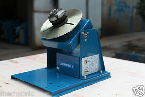 By 10 Rotary Welding Positioner Turntable Mini 2 5 3 Jaw Lathe Chuck 110v 220v