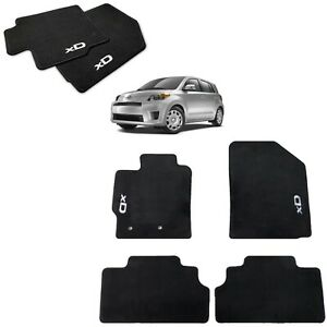 2008 2012 Scion Xd Floor Mats black Carpet Set Genuine Scion Pt206 52104 02