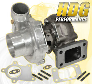 Racing T3 T4 T04e Hybrid 57 A R Turbo Charger Stage 3 Turbine 12 Blade 400 Hp