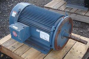 Emerson Motor 3 Phase 25 Hp 1770rpm 208 230 460v