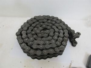 Double Roller Chain 100 2 Chain Size 10 Ft 1 1 4 Pitch Roller Dia 75