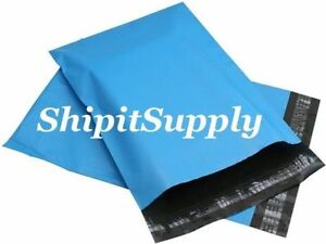 1 1000 6x9 Blue Color Poly Mailers Shipping Boutique Bags Fast Shipping